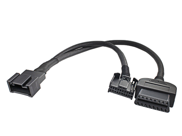 BMW 20P female to  20P male  cable